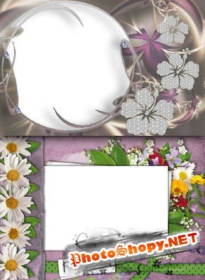 Photo Frame - Fresh Flowers