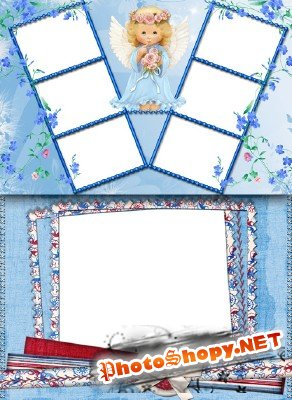 Frame for Photoshop - Angel
