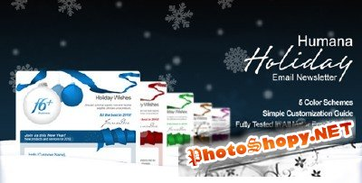 Themeforest - Humana - Holiday Greetings/Email Newsletter