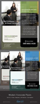 GraphicRiver - Modern Corporate Flyers