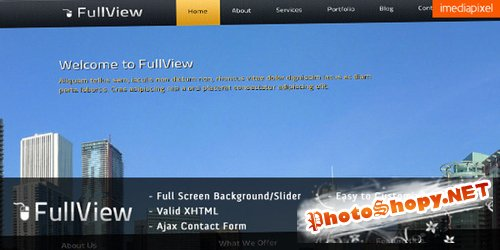 ThemeForest - FullView - Fullscreen Background Slider Template - RiP