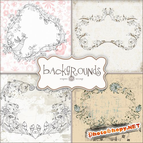 Textures - Weddings Backgrounds #3