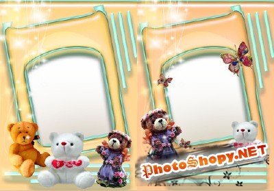 Photo Frame - Bears