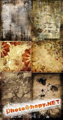A set of grungy textures