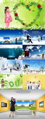 PSD source collection 2011 pack # 19