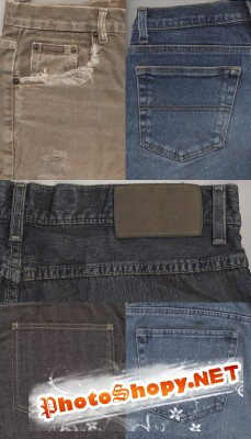 Set denim texture # 6
