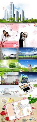 PSD source collection 2011 pack # 21