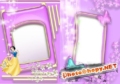 Photo Frame - Butterfly