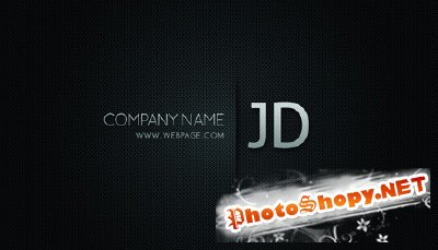 Graphicriver blackish business card
