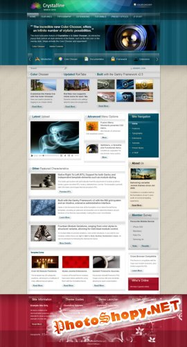 RocketTheme - Crystalline v1.5.10 update