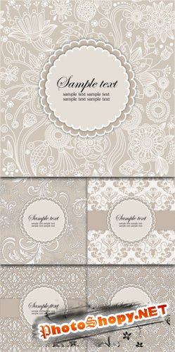 Vintage Vector Backgrounds #1