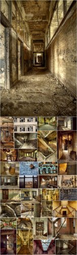 Urban Ruins Backgrounds