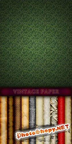 Текстуры - винтажная бумага