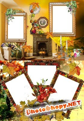 Photo Frame - Autumn design