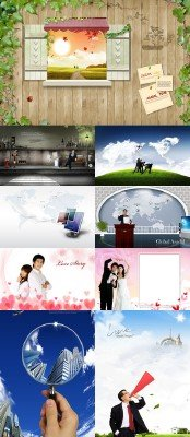 PSD source collection 2011 pack # 23