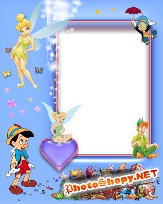 Photo Frame - Hero Cartoon