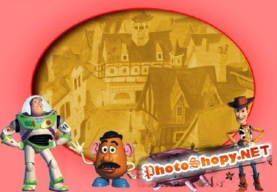 Photo Frame - Toy Story