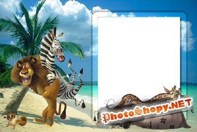 Photo Frame - Madagascar