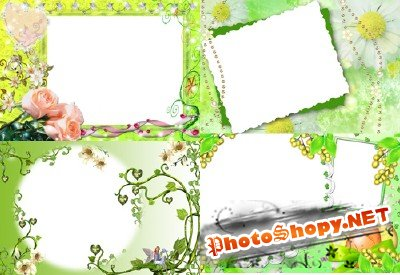 Photo Frame - Spring Landscape