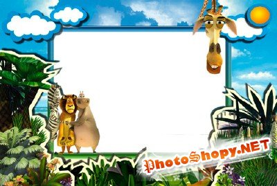 Photo Frame - Madagascar 2