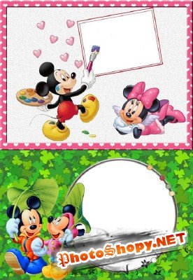 Photo Frame - Mickey Mouse
