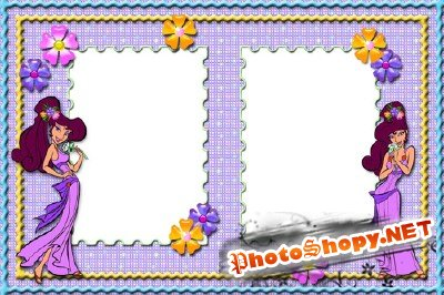 Photo Frame - Princess from a fairy tale