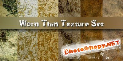 Worn Thin Texture Set