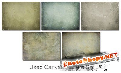 Used Canvas Texture Set