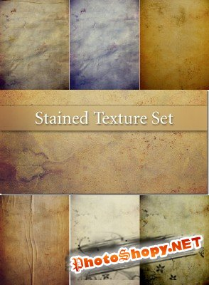 Stained Texture Set