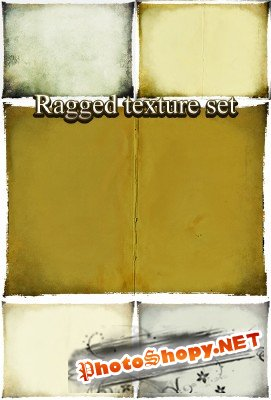 Ragged Pages Texture Set