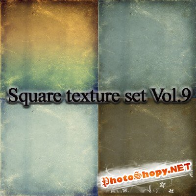 Square Texture Set Vol. 9