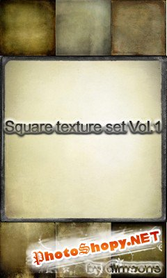 Square Texture Set Vol 1