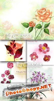 Flower backgrounds pack 29
