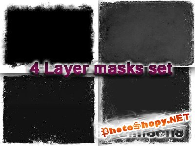 4 Layer Masks Set