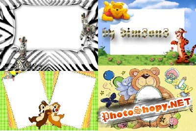 Photo Frame - Funny animals