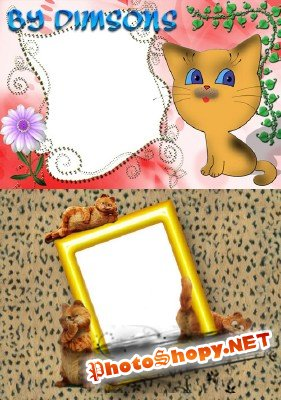 Photo Frame - Small Kitten