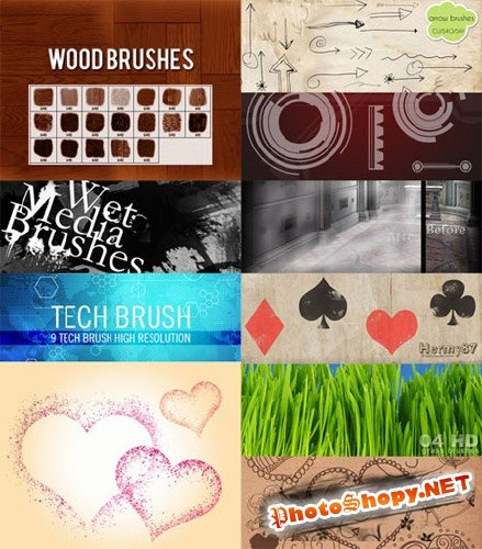 18 Brushes for Photoshop
