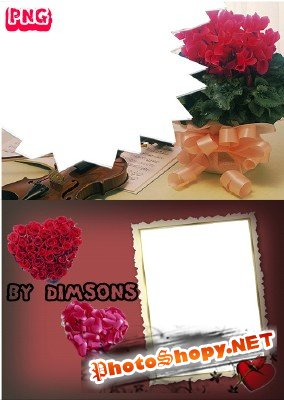 Photo Frame - Beautiful Bouquets