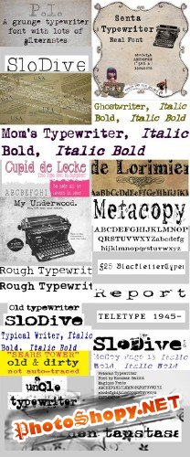 23 fonts collection