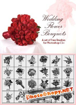 Wedding Flower Bouquets Brushes