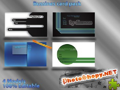 Business card pack
