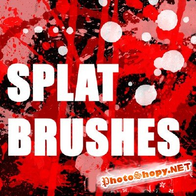 50 Blood or Splatter Brushes
