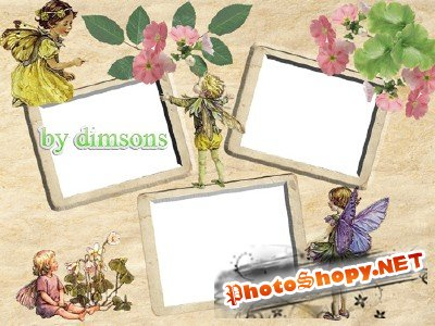 Photo Frame - Small Elves