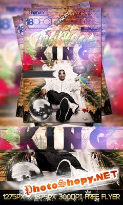 Tropical king flyer