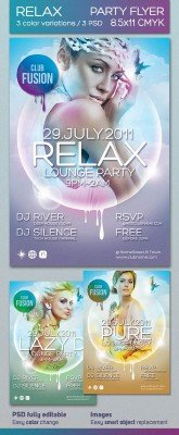 Poster Relax Flyer