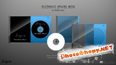 Sliding Jewel Box PSD