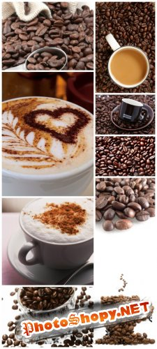 Coffee Backgrounds - Coffee, corn, cup