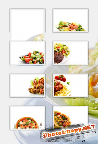 Food Backgrounds - Food, White Background