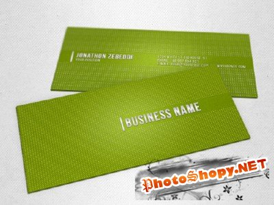 Green Dot Business Card