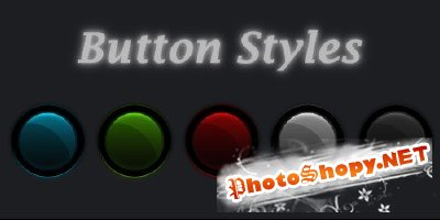 Button Styles file psd